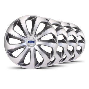 Jogo-4-Calota-Velox-Aro-14-Prata--Grafite-Ford-Prata