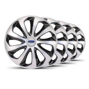 Jogo-4-Calota-Velox-Aro-15-Prata-Preta-Ford-Prata
