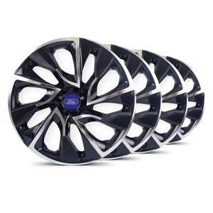 Jogo-Calota-DS4-Preta-Cromada-Aro-14-Ford-AzulMarinho