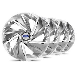 Jogo-Calota-Nitro-Aro-14-Grafite--Prata-Ford-Prata