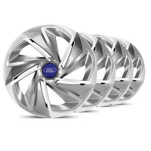 Jogo-Calota-Nitro-Aro-14-Grafite--Prata-Ford-Azul-Marinho