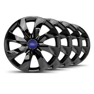 Jogo-4-Calota-Prime-Unicolor-Aro-14-Preta-Ford-Azul-Marinho