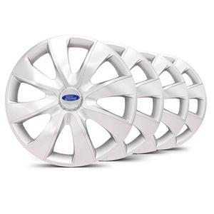 Jogo-Calota-Prime-Unicolor-Prata-Aro-14-Ford-Prata