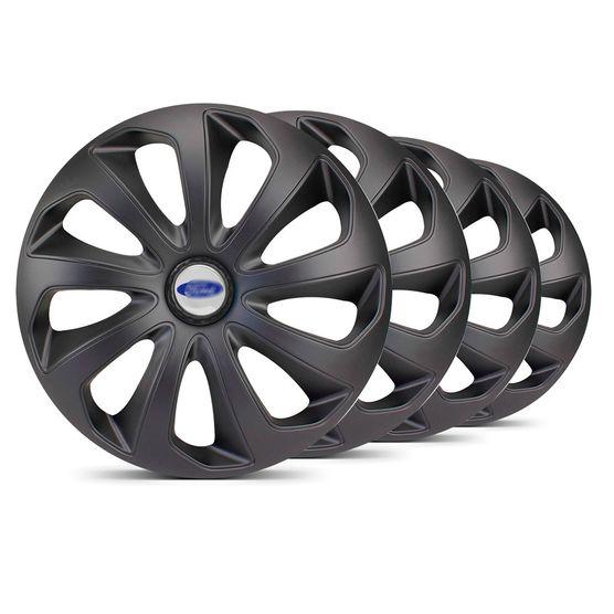 Jogo-Calota-Velox-Unicolor-Aro-15-Preta-Fosca-Ford-Prata
