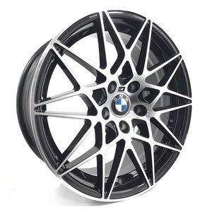 Jogo-Roda-BMW-M4-Gts-Aro-18---Preta-Diamantada-Roda-M4-Gts-Aro-18---5x120-Tala-80-Off-Set-35