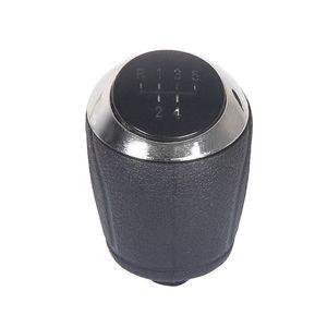 Manopla-Bola-de-Cambio-Prisma---Encaixe-Parafusado---Preta-Aro-Cromado-1a