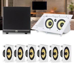 Kit-Home-Theater-7.1-JBL-Caixa-de-Embutir-CI8S---Canal-Central-CI55RA---Sub-100-Residencial-Gesso-1a