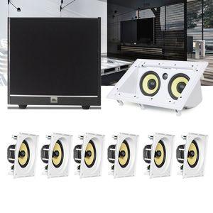 Kit-Home-Theater-7.1-JBL-Caixa-de-Embutir-CI8SA---Canal-Central-CI55RA---Sub-100-Residencial-Gesso--1a