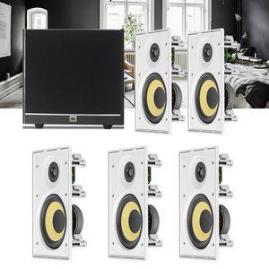 Kit-Home-Theater-5.1-JBL-Caixa-de-Embutir-CI8R---Sub-100-Residencial-Gesso-1a