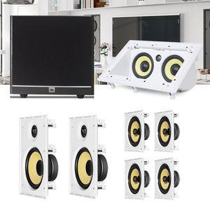 Kit-Home-Theater-7.1-JBL-Caixa-de-Embutir-CI8R---CI8S---Central-CI55RA---Sub-100-Residencial-Gesso-1a