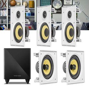 Kit-Home-Theater-5.1-JBL-Caixa-de-Embutir-CI6R---CI6S---Sub-210-Residencial-Gesso-1