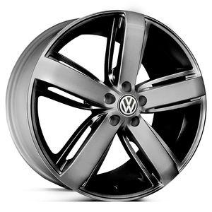 Roda-KR-R33-Volkswagen-Amarok-2012-Aro-18---Preta-com-face-polida