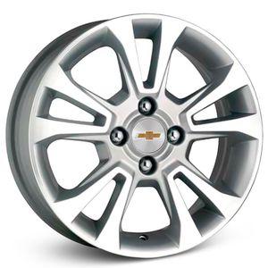 Roda-KR-R42-Chevrolet-Onix-Aro-14---Prata-com-face-polida