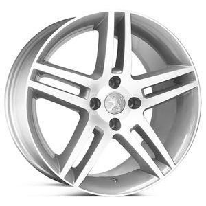 Roda-KR-R41-Peugeot-308-Aro-17---Prata-com-face-polida