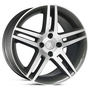 Roda-KR-R41-Peugeot-308-Aro-17---Grafite-com-face-polida