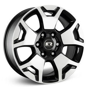 Jogo-Roda-KR-S11-Hilux-SRX-Aro-18---Preta-Diamantada
