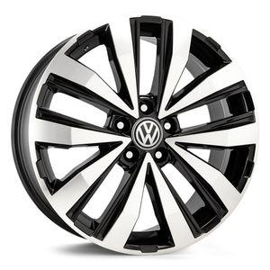 Roda-KR-R86-Volkswagen-Amarok-Aro-20---Preta-com-face-polida