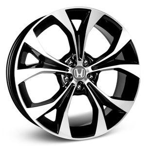 Roda-KR-R29-Honda-Civic-2012-Aro-15---Preta-com-face-polida