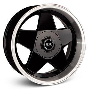 Roda-K56-Borbet-Preta-com-face-polida