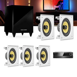 Kit-Home-Theater-5.1-JBL-Receiver-AVR-1510S---Caixa-Embutir-Teto-CI6S---Sub-210-Residencial-Gesso--01