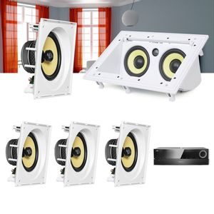 Kit-Home-Theater-5.0-JBL-Receiver-AVR-1510S---Caixa-de-Embutir-CI8SA---Canal-Central-CI55RA--1a