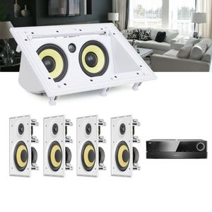 Kit-Home-Theater-5.0-JBL-Receiver-AVR-1510S---Caixa-de-Embutir-CI6R---Canal-Central-CI55RA--1a