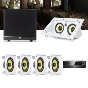 Kit-Home-Theater-5.1-JBL-Receiver-AVR-1510S---Caixa-Embutir-CI6S---Canal-Central-CI55RA---Sub-100-1a