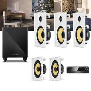 Kit-Home-Theater-5.1-JBL-Receiver-AVR-1510S---Caixa-Embutir-Teto-CI8R---CI8S---Sub-210--01