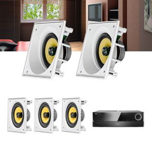 Kit-Home-Theater-5.0-JBL-Receiver-AVR-1510S---Caixa-Embutir-Ci6S---Ci6SA-Residencial-Gesso-1a