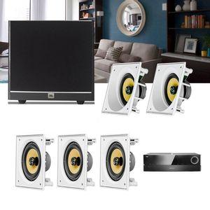 Kit-Home-Theater-5.1-JBL-Receiver-AVR-1510S---Caixa-Embutir-Ci6S---Ci6SA---Sub-100-1a