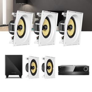Kit-Home-Theater-5.1-JBL-Receiver-AVR-1510S---Caixa-Embutir-CI8SA---CI8S---Sub-210-Residencial-Gesso--01