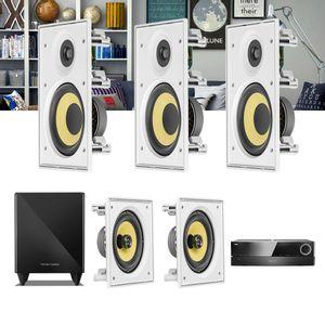 Kit-Home-Theater-5.1-JBL-Receiver-AVR-1510S---Caixa-Embutir-Teto-CI6R---CI6S---Sub-210-1