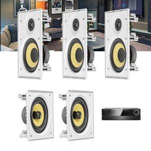 Kit-Home-Theater-5.0-JBL-Receiver-AVR-1510S---Caixa-de-Embutir-Teto-CI6R---CI6S-Residencial-Gesso--1