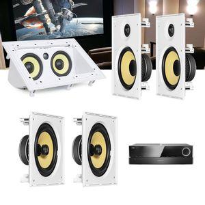 Kit-Home-Theater-5.0-JBL-Receiver-AVR-1510S---Caixa-Embutir-CI8R---CI8S---Central-CI55RA--01
