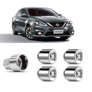 Jogo-Porca-Antifurto-Nissan-Sentra-PCD-M12x15-A