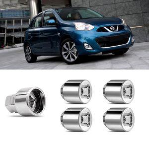 Jogo-Porca-Antifurto-Nissan-March-PCD-M12x15-A
