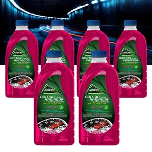 Kit-6-Aditivo-Para-Radiador-Concentrado-Autoshine-Long-Life-Antiferrugem-CarbonPro-1a