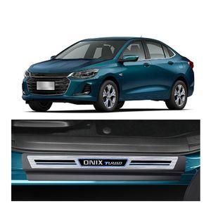Kit-Soleira-Chevrolet-Onix-Turbo-2020-4-Portas-Premium-Aco-Escovado-1