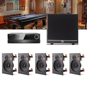 Kit-Home-Theater-5.1-JBL-Receiver-AVR-1010---Caixa-Embutir-Teto-Arena-6IW---Arena-Sub-100-1a