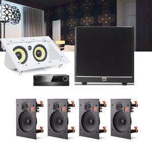 Kit-Home-Theater-5.1-JBL-Receiver-AVR-1010--Caixa-Embutir-Teto-Arena-8IW---Central-CI55RA---Sub-100-1a