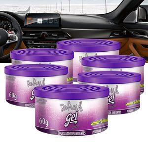 Kit-6-Aromatizante-Lavanda-Gel-Perfume-Cheirinho-Ambientes-Autoshine-1a