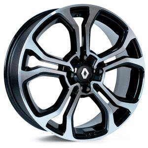 Jogo-Roda-KR-M7-Renault-Kwid-Aro-14---Preta-Diamantada