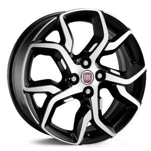 Joga-Roda-KR-R92-Fiat-Argo-Aro-14---Preta-Diamantada