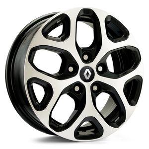Jogo-Roda-KR-S12-Renault-Captur-Aro-16---Preta-Diamantada