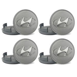 Jogo-4-Calota-Centro-Roda-Hyundai-Vera-Cruz-Prata-Emblema-em-Acrilico-A