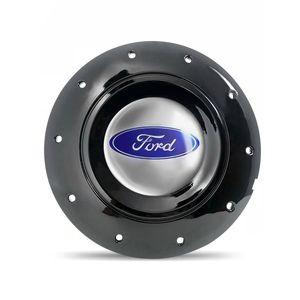Calota-Centro-Roda-Ferro-Amarok-Ford-Courier-Preta-Brilhante-Emblema-Prata-1