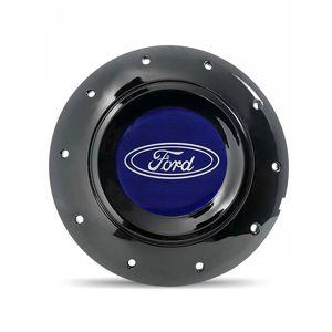Calota-Centro-Roda-Ferro-Amarok-Ford-Versailles-Preta-Brilhante-Emblema-Azul-1