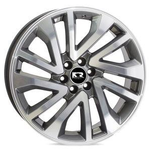 Jogo-Roda-KR-S01-Nissan-Frontier-Aro-18---Grafite-Diamantada