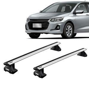 Rack-Teto-Bagageiro-Thule-Wingbar-Evo-Chevrolet-Onix-Plus-4-Portas-Sedan-2019--01