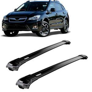 Rack-Teto-Bagageiro-Thule-Wingbar-Subaru-XV-2012-a-2016-Longarinas-Pretas-9584B-01